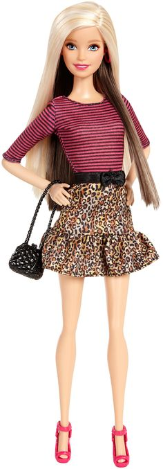 Barbie Barbie Doll Fashionista leopard skirt Fashionista Barbie Doll Leopard Print Skirt parallel import >>> Find out more about the great product at the image link. Barbie 2014, Barbie I, Barbie Dress, Barbie And Ken, Barbie Style, Barbie Fashionista Dolls, Leopard Print Skirt, Mattel, Doll Clothes Barbie