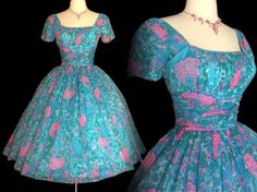 Hey, I found this really awesome Etsy listing at https://www.etsy.com/uk/listing/498121238/vintage-1950s-dressjonathan-logan50s