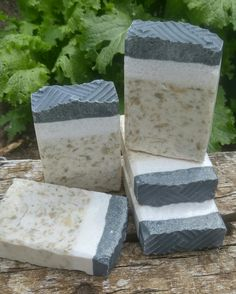 Tea Tree Eucalyptus Essential Oils With Fuller's Earth and Activated Charcoal all Natural Soap