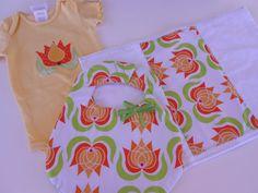Custom Handmade Bib Burp Cloth and Applique by Stitchedbygigi, $17.95