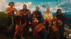 Geralt and the Boys  Lambert Group picture [SBUI] #TheWitcher3 #PS4 #WILDHUNT #PS4share #games #gaming #TheWitcher #TheWitcher3WildHunt