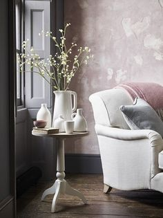 Amber Interiors, Colorful Interiors, Neptune Home, Modern Lounge, Round Side Table, Home And Living, Modern Living, Creative Home, Living Spaces