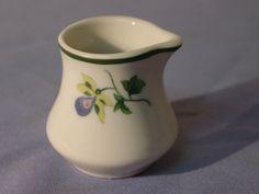 Vintage Shenango Syarcuse China? Flowers Pattern Creamer