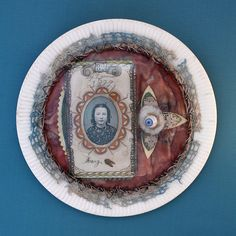 doll's glass eye, The Swallowing Plates by Lisa Wood