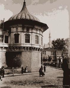 Bir zamanlar İSTANBUL, Gülhane, Alay Köşkü Abdullah Frères fotoğrafı (tarih ?)