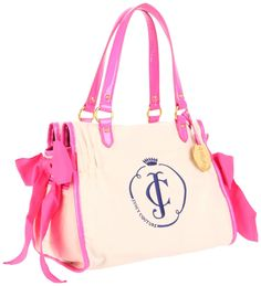 Juicy Couture A Blank Canvas Shoulder Bag - my initials!