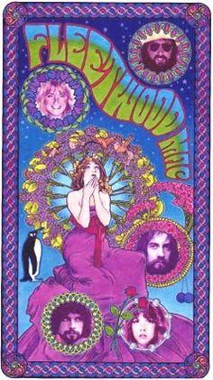 Fleetwood Mac Art by Bob Masse
