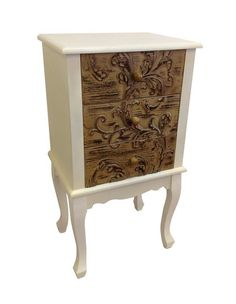 Reduced TO Clear French Provincial Hall Console Bedside Cupboard Table | eBay