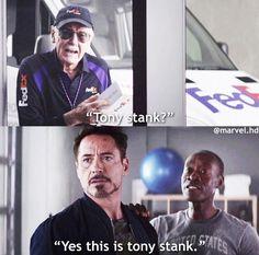 This is tony stark-marvel And he will never live it down Marvel Jokes, Avengers Memes, Marvel Funny, Marvel Dc Comics, Marvel Avengers, Marvel Civil War, Captain America Civil War, Tony Stark, Deadpool
