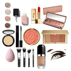 """full make up"" by evshion on Polyvore featuring beauty, Terre Mère, Gucci, Urban Decay, Chanel, Yves Saint Laurent, Milani, Estée Lauder, LORAC and Marc Jacobs"