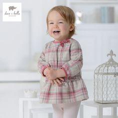 DB1114 dave bella autumn baby dress infant clothes girls plaid dress fairy dress toddle 1 pc kid princess dress sweet cute #Affiliate