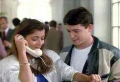 Sloane Petersen and Ferris Bueller (Mia Sara & Matthew Broderick), Ferris Bueller's Day Off, 1986