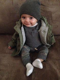 My sweet trendy little boy's style. Parka from baby gap. Onesie is Nordstrom - cool My sweet trendy little boy's style. Parka from baby gap. Onesie is Nordstrom. Fashion Kids, Little Boy Fashion, Baby Boy Fashion, Style Fashion, Baby Outfits, Outfits Niños, Newborn Outfits, Fashion Outfits, Cute Kids