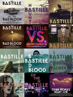 bastille bad blood chords