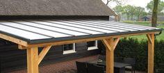 veranda douglas met lt50 pakket polycarbonaat