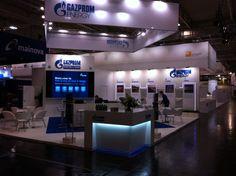 Stand Gazprom Energy op E World 2013.