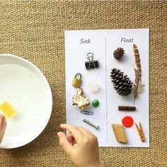 Some good old Montessori with a little hypothesising too!