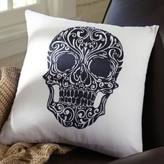 Day Of The Dead Pillow Cover
