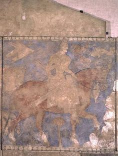 Soghdian - The Heroic Rustam, from Penjikent