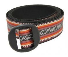 Backpacker Web Belt with Oval Slide
