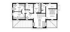 Rymliga klassiska 2-planshuset Villa Falkenberg har generösa umgängesytor som förlängs ut på härlig veranda. Se fler fakta, bilder och ritningar här!