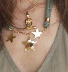 Collar de estrellas de Bolboreta Complementos y colgante de Budha de Marina Cowdray