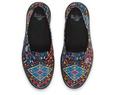 Dr. Martens MORADA Slip-on Shoes.  Is this for real? Omg.