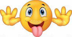 Illustration about Illustration of Smiley Emoticon cartoon Surprise Expression. Illustration of avatar, mood, behavior - 33233421 Emoticon Feliz, Smiley Emoticon, Animated Smiley Faces, Funny Emoji Faces, Silly Faces, Cartoon Faces, Wütendes Emoji, Emoji Love, Images Emoji