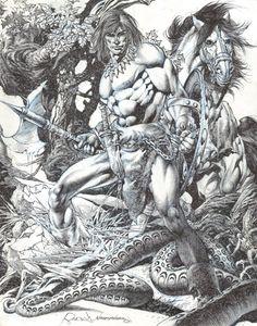 Conan the Untamed by Rudy Nebres
