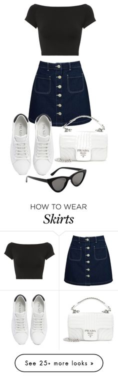 """Untitled #23338"" by florencia95 on Polyvore featuring Miss Selfridge, Prada, MANGO and Helmut Lang"