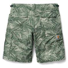 Smarte Bermuda shorts fra Carhartt, der vil være gode som badeshorts, eller til almindelig brug i det lækre sommervejr! Ser i med mænd?