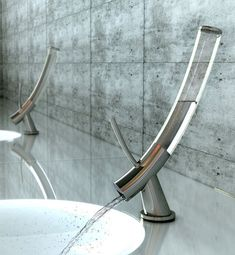 Faucet Design By Yonggu Do Dohyung Kim Sewon Oh The Gl Holds Exactly One Liter Of Water Sufficient For A Quick Handwash