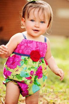Easy Baby Romper Sewing Pattern Infant Bubble by littlelizardking