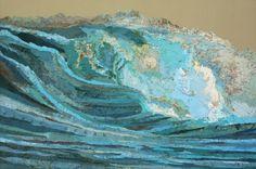 Matthew Cusick, map collage