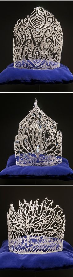 glass (glass?!) crowns by kate clements