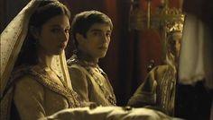 La boda del heredero de Castilla y Aragón, Juan, y Margarita de Habsburgo.