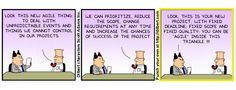 Lean, Agile, Scrum > De ene aanpak is nog beter dan andere. En toch wil het in de praktijk maar niet lukken. - een blog van Sander Denk van Think-Able