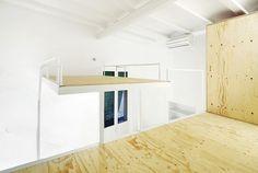 ARQUITECTURA-G finaliza la obra de una vivienda de 34 m2ubicada en el Born,Barcelona.