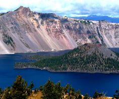 Watchman Peak, Crater Lake National Park, OR #bmc_nationalparks