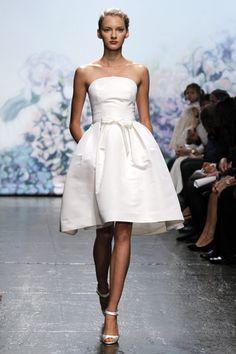 Vestidos para novias de Monique Lhuillier para la temporada otoño invierno 2012 2013