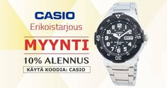 Buy Casio Watches For Men & Women at 10% OFF, Use Coupon Code : CASIO, Hurry Up Guys...!!!
