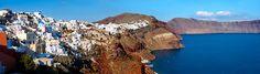 Oia ( Ia ) Santorini Town- Greek Cyclades islands
