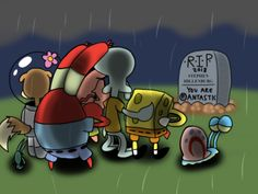Stephen Hillenburg, creator of SpongeBob SquarePants, died not long ago on November Like all the fallen heroes of he was given a funera. Spongebob Shows, Spongebob Squarepants Tv Show, Spongebob Friends, Spongebob Squidward, Spongebob Drawings, Cartoon Theories, Cartoon Crossovers, Cartoon Movies, Mood Wallpaper