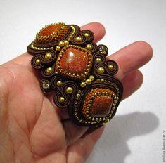Купить Сутажный браслет с авантюрином - сутажный браслет купить, сутажный браслет комплект
