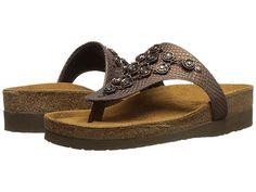 2fbc55bf8b1a Naot footwear juneau brown lizard leather java nubuck