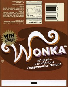 Bright image pertaining to printable wonka bar wrapper