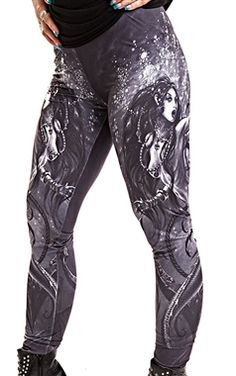 Alchemy Black Sea Siren Leggings