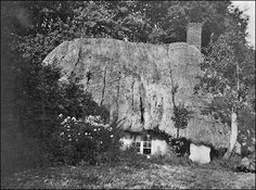 A thatched cottage in Imber taken in the ~ the area had not only been evacuated but the village itself had literally dropped off the map. Salisbury Plain, Lost Village, Self Build Houses, Off The Map, Little Cottages, Spooky Places, Heritage Museum, Building A House, England