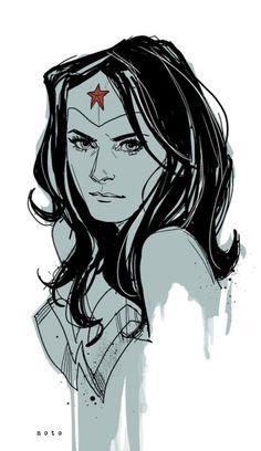 Wonder Woman Art by Phil Noto #comics #comicbooks #illustration