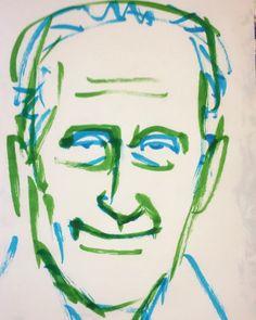 いいね!3件、コメント1件 ― @1mindrawのInstagramアカウント: 「#1mindraw #marcelduchamp #マルセルデュシャン #readymade #レディメイド #18870728 #birthday #誕生日 #portrait #筆ペン画」